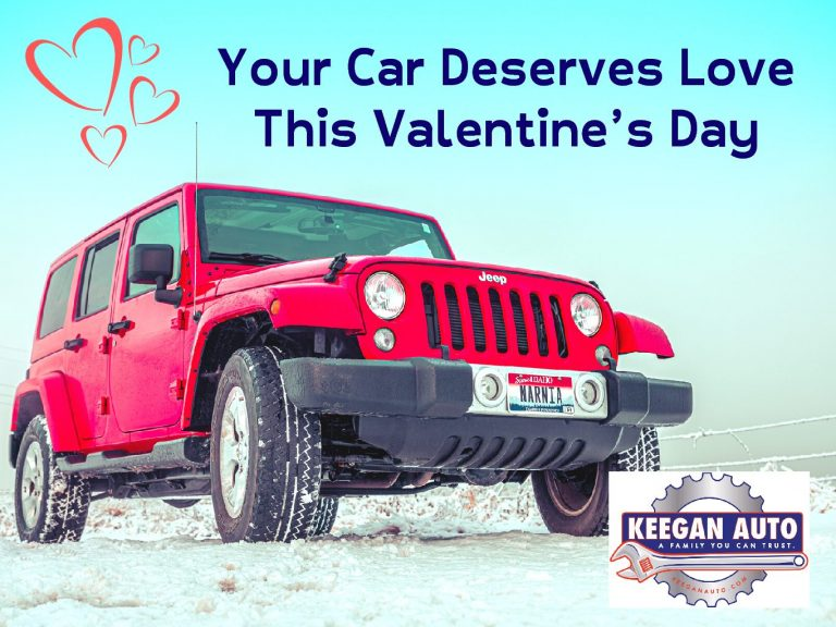 Your Car Deserves Love This Valentine's Day